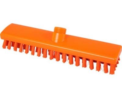 Щітка для підлоги FBK 300х60 мм помаранчева 43153