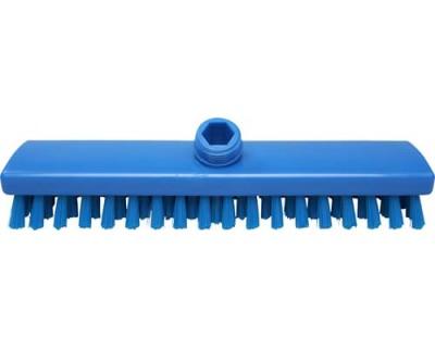 Щетка-скраб с подачей воды FBK 44153 300х60 мм синяя