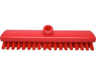 Щітка-скраб з подачею води FBK 44153 300х60 мм червона