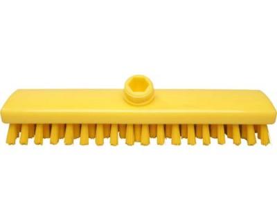 Щітка-скраб з подачею води FBK 44153 300х60 мм жовта