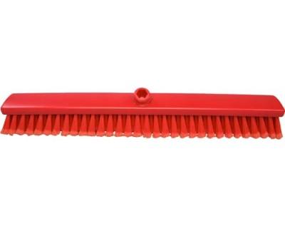 Мітла підмітальна з посіченою щетиною FBK 47106 60 мм0х60 мм червона