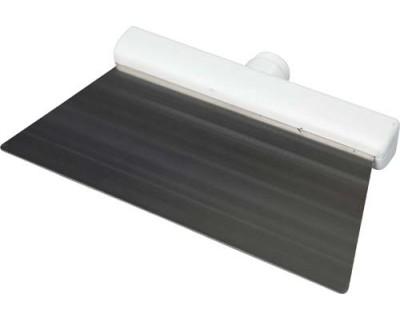 Скребок із нержавіючої сталі FBK 48281 280х110 мм білий
