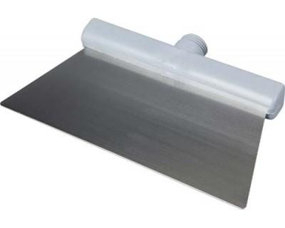 Скребок из нержавеющей стали FBK 48281 280х110 мм серый