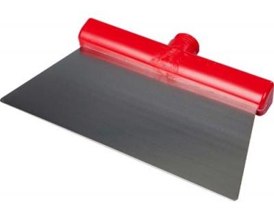 Скребок із нержавіючої сталі FBK 48281 280х110 мм червоний