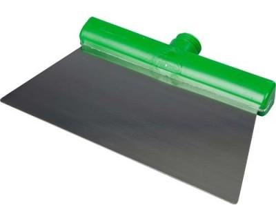 Скребок из нержавеющей стали FBK 48281 280х110 мм зеленый