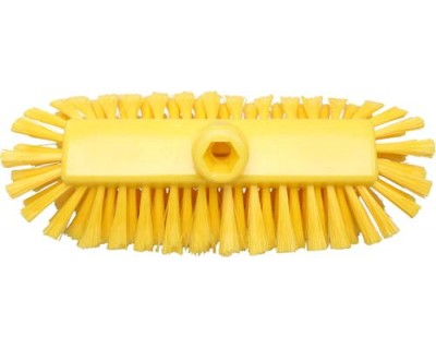 Щітка з подачею води FBK 49105 290х130 мм жовта