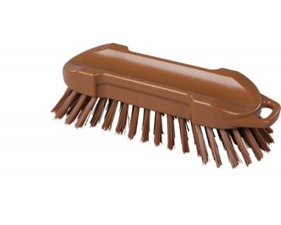 Щетка-скраб FBK 54153 210х65 мм коричневая
