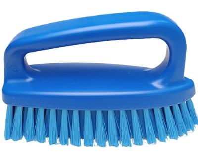 Щетка-скраб (утюжок) FBK 54434 185х60 мм синяя