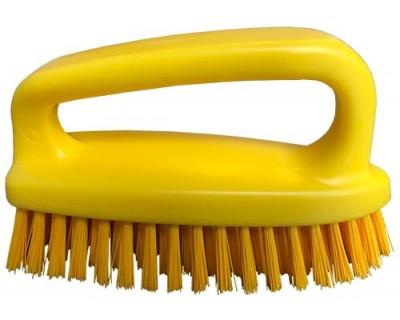Щетка-скраб (утюжок) FBK 54434 185х60 мм желтая