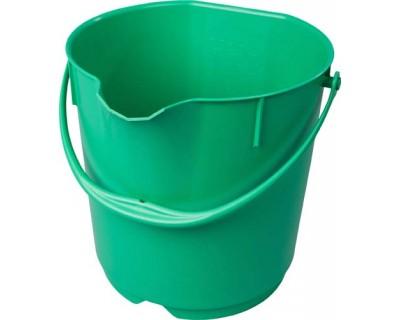 Відро метелодетектуєме FBK 70101 15л. поліпропілен зелений