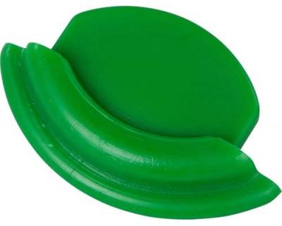 Заглушка для алюмінієвої рейки FBK 80005 зелена