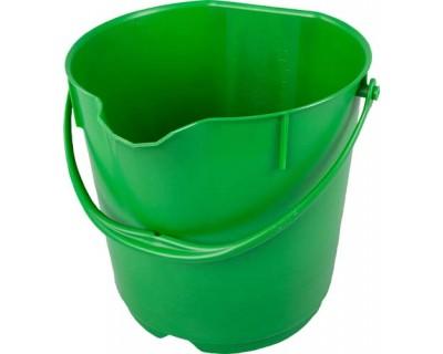 Ведро пищевое FBK 80101 зеленое 15л