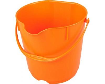 Ведро пищевое FBK 80101 оранжевое 15л