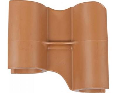 Маркеровочный значок для алюминиевого рельса FBK 80002 коричневый