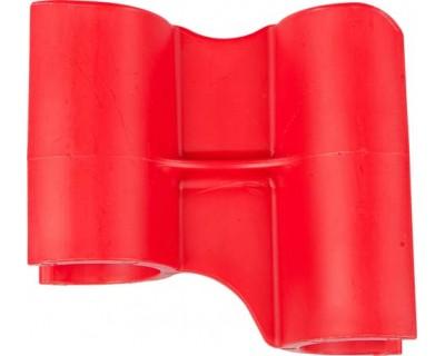 Маркувальний значок для алюмінієвої рейки FBK 80002 червоний