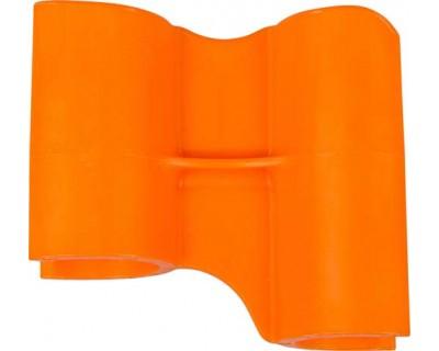 Маркеровочный значок для алюминиевого рельса FBK 80002 оранжевый