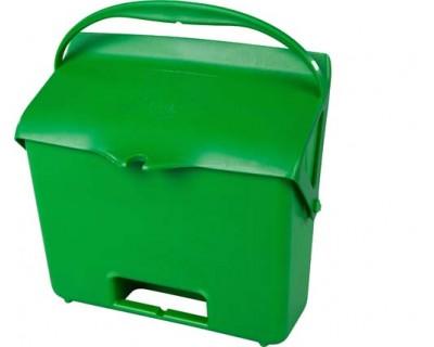 Совок з ручкою і кришкою FBK 80205 700 мл зелений