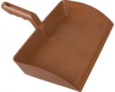 Совок для уборки FBK 80301 300х310 мм коричневый