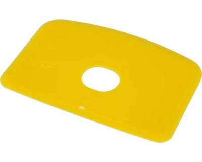 Скребок для тіста з отвором FBK 81910 жовтий