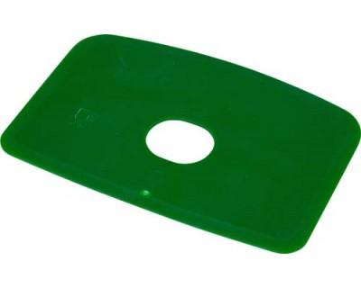 Скребок для тіста з отвором FBK 81910 зелений