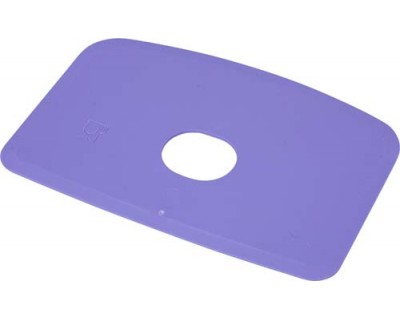 Скребок для тіста з отвором FBK 81910 фіолетовий