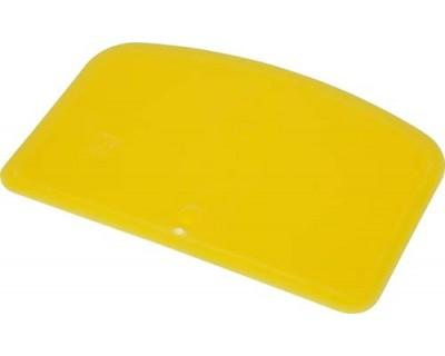 Скребок для теста гибкий FBK 81911 желтый