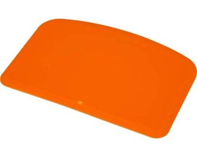 Скребок для тіста гнучкий FBK 81911 помаранчевий