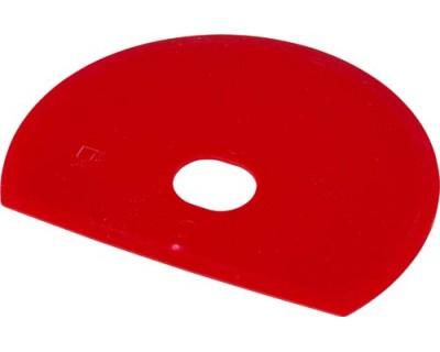 Скребок для тіста гнучкий FBK 81915 червоний