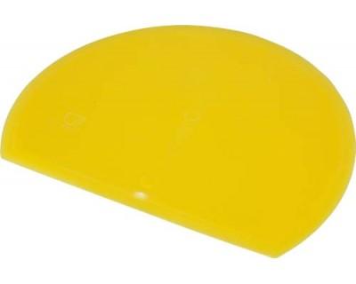 Скребок для теста гибкий FBK 81916 желтый