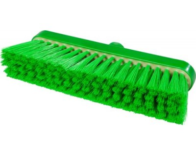 Щетка-метла с резиновым компонентом FBK 94147 280x48 мм зеленая